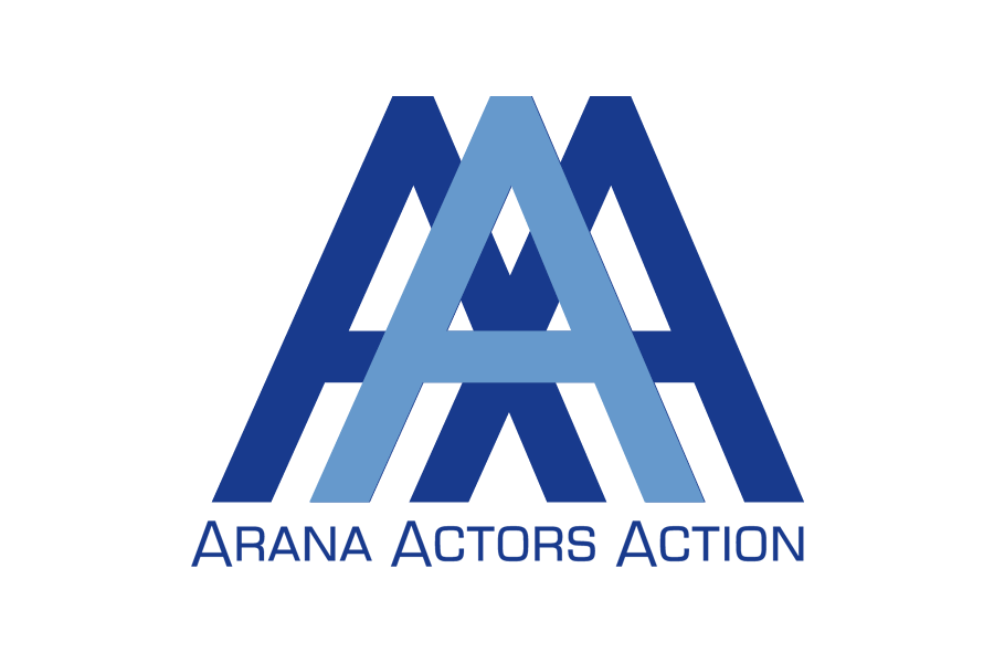 Arana Actors Action - Diseño de logo