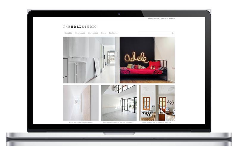 The hall studio - Arquitectura - Diseño web