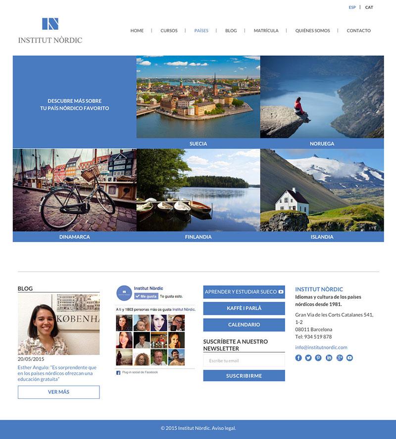 Institut Nòrdic - Web