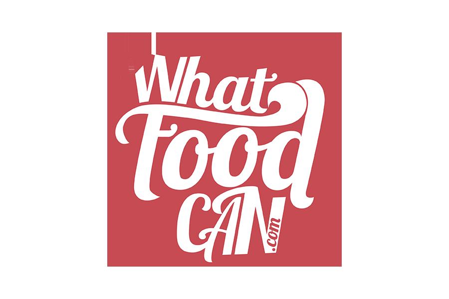 What Food Can - Diseño de Logo