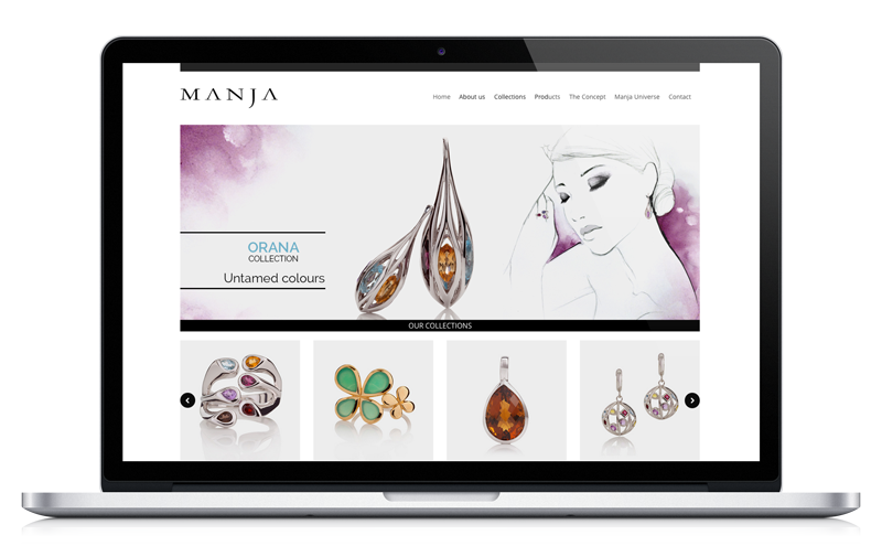 Manja Jewellery - Web