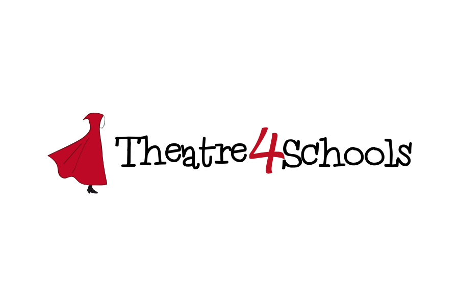 Theatre4Schools - Teatro en inglés para escuelas - Diseño Logo