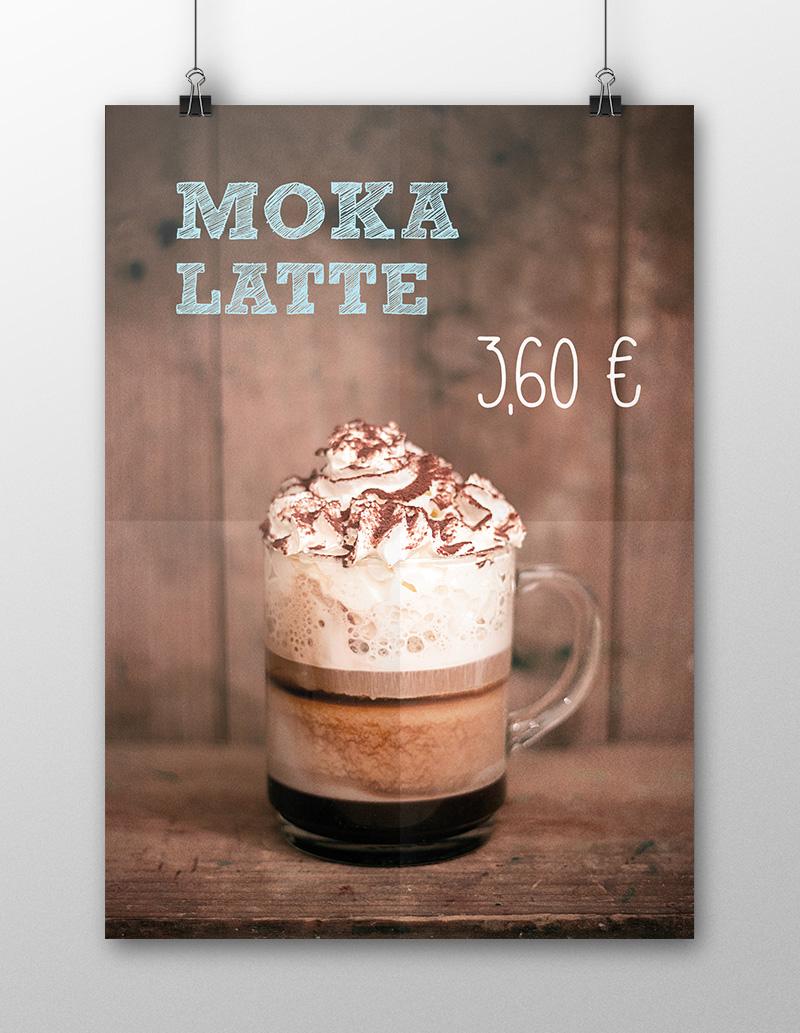 Molika Café - Fotografía & Diseño Póster