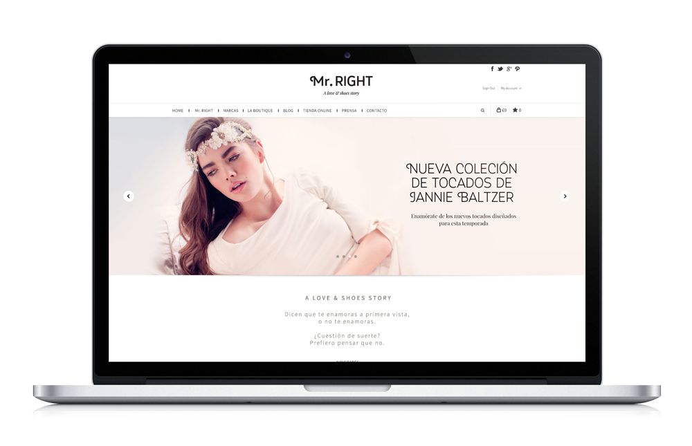 Mr.RIGHT - Desarrollo web