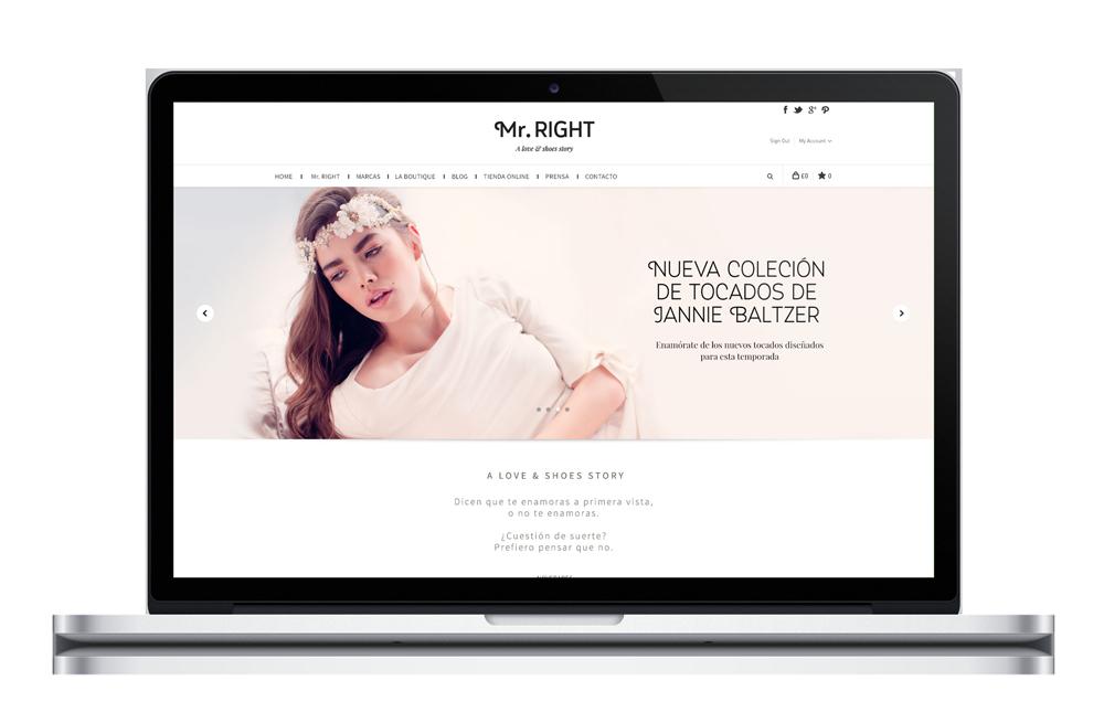 Mr.RIGHT - Desarrollo web
