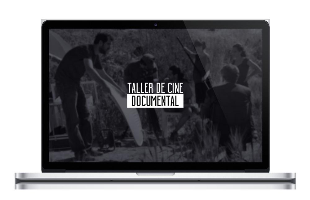 Taller de Cine Documental por Jorge Peña - Diseño Web