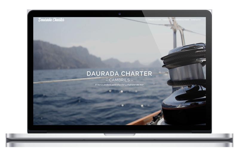 Daurada Charter - Alquiler de barco - Website