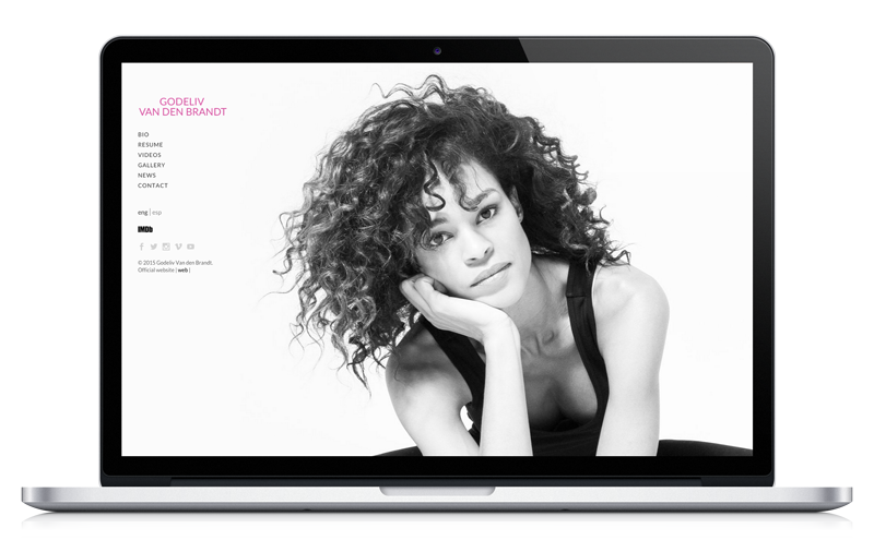 Godeliv Van den Brandt - Actriz - Website