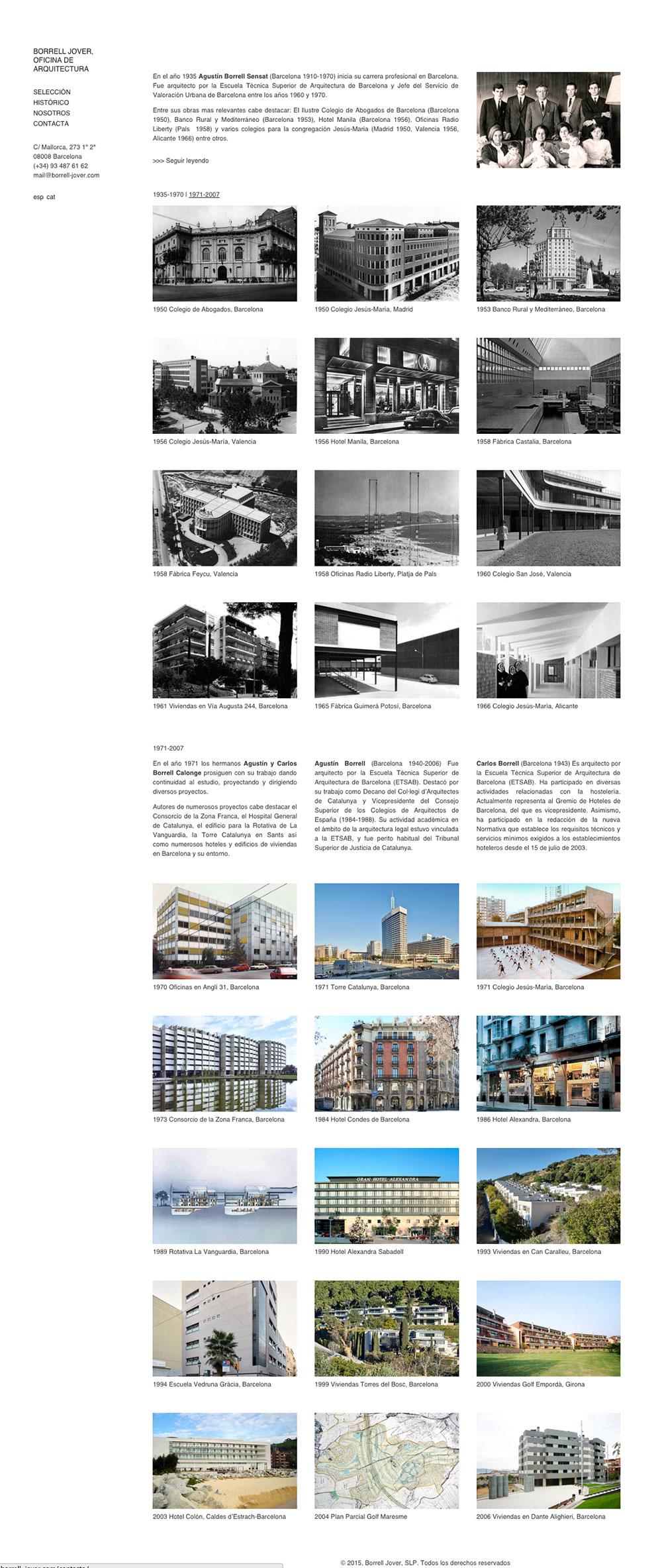 Borrell y Jover Arquitectos