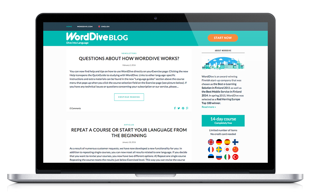 WordDive Blog
