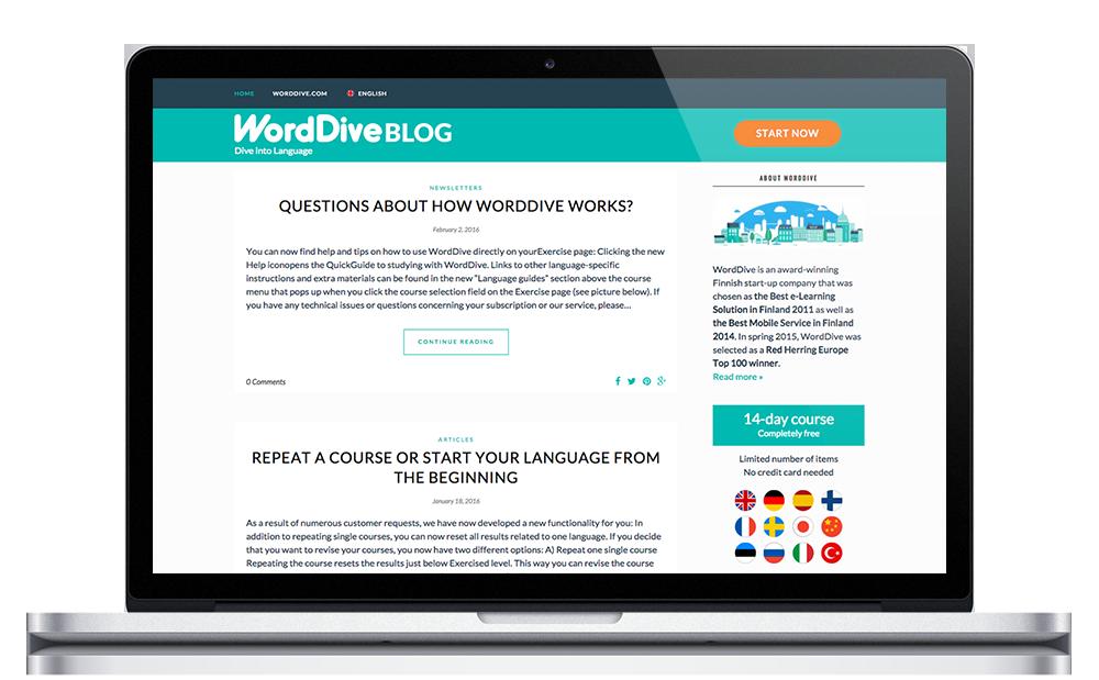 WordDive Blog