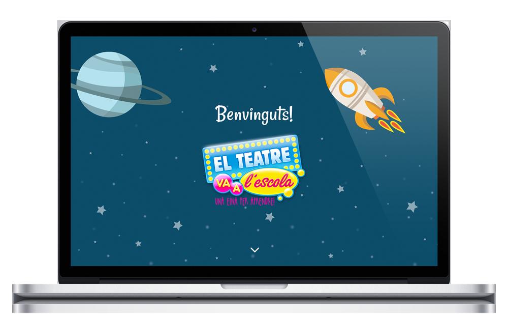 El teatre va a l'escola - Website