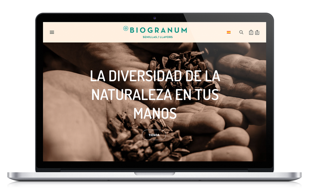 Biogranum - Venta de semillas - Website