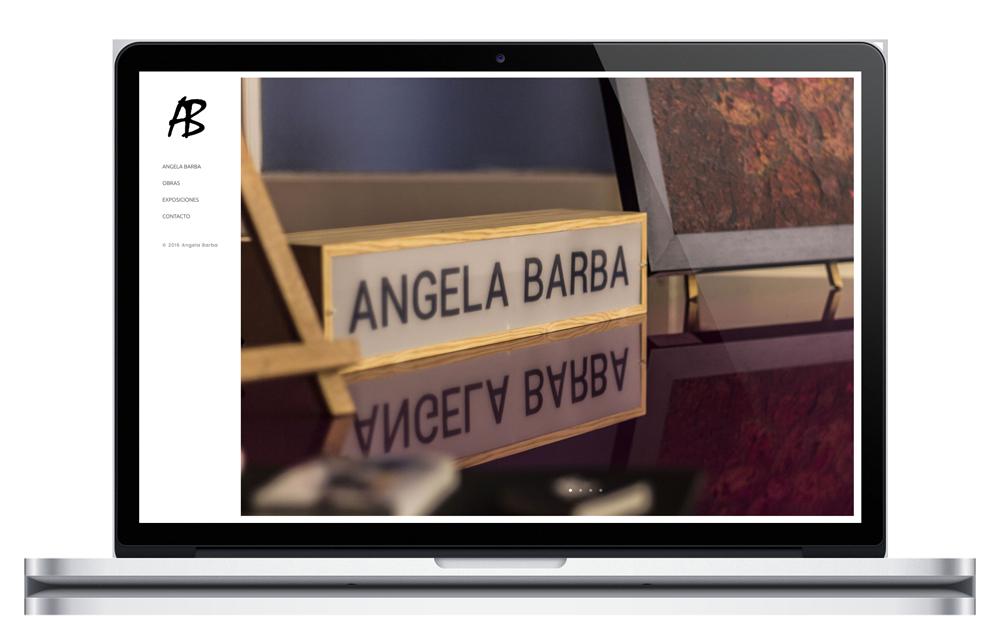 Ángela Barba - Website