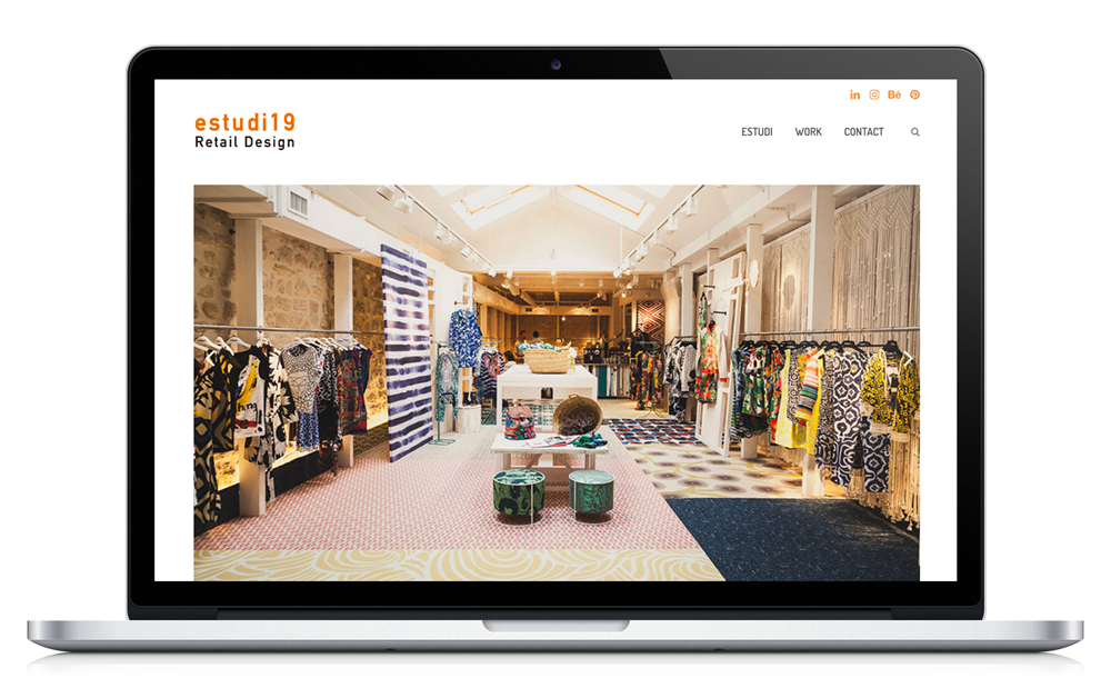 estudi19 - Estudio de diseño de retail y shop concept - Website