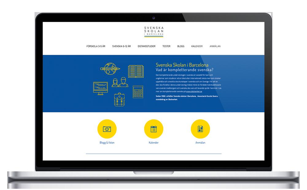 Svenska Skolan i Barcelona - Escuela sueca de Barcelona - Website