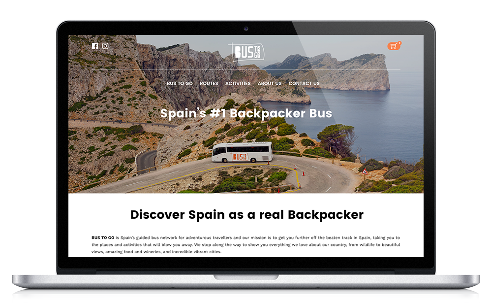 Bus to go Spain - Agencia de viajes - Website