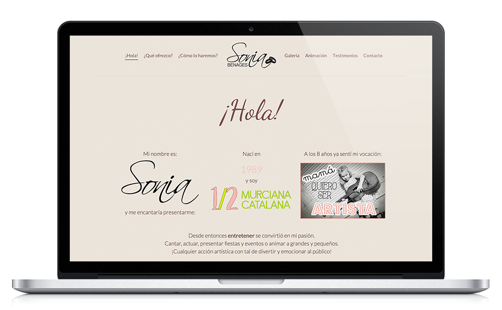 Sonia Benages Bodas ★ Ceremonias ★ Website
