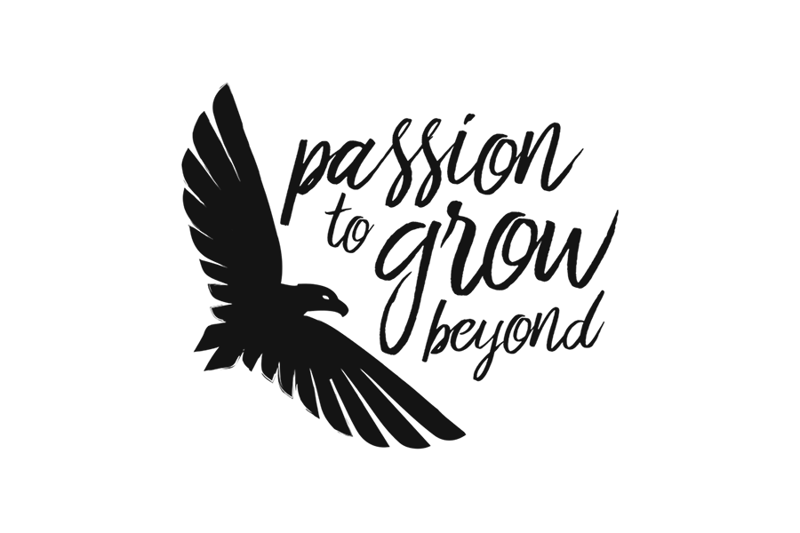 Passion to grow beyond ★ Coach ★ Logo