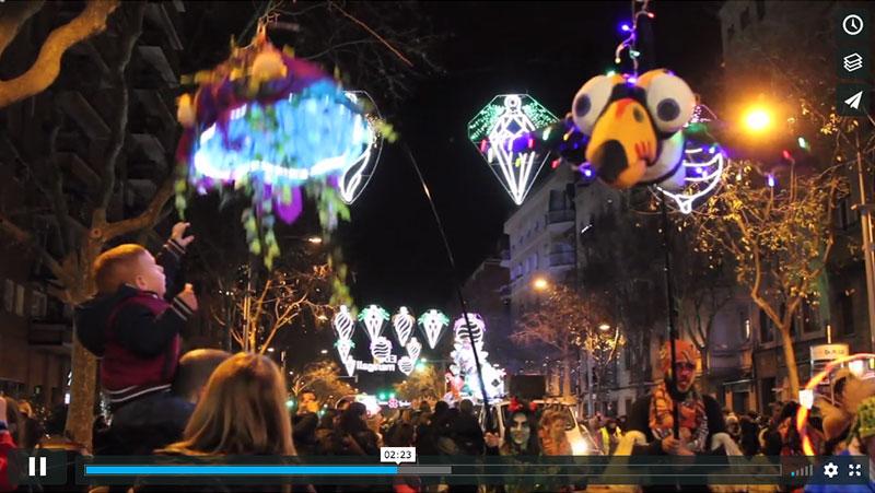 Cabalgata Reyes Horta 2017 - Vídeo