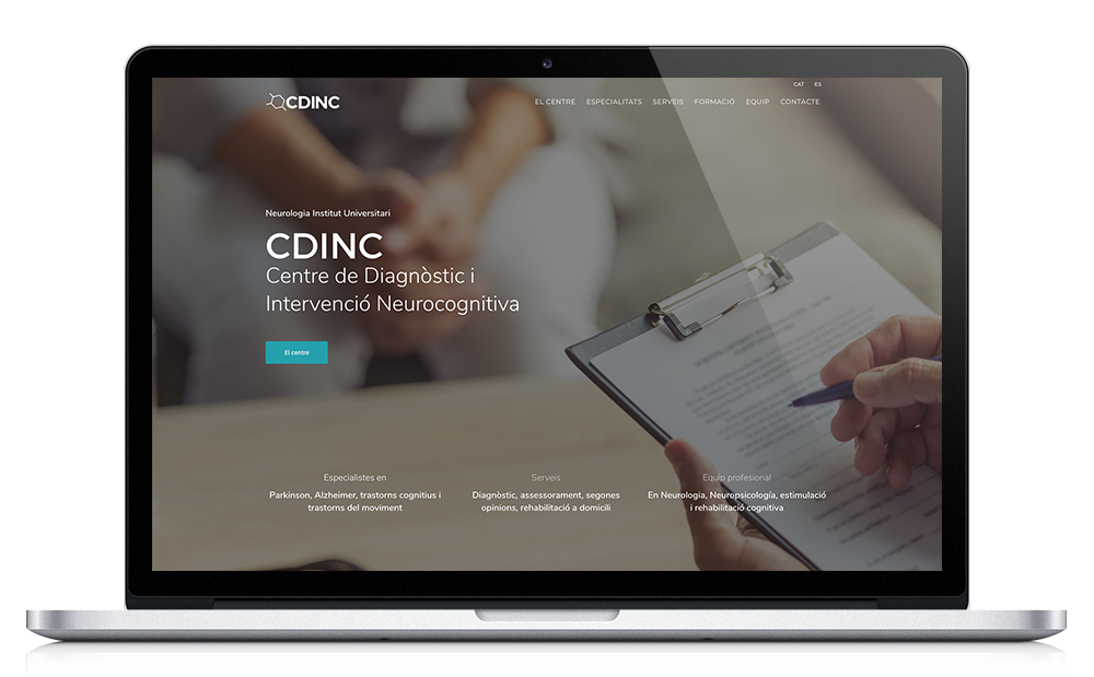 CDINC ★ Centro de diagnóstico e intervención neurocognitiva ★ Website