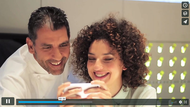 Purina y Paco Roncero ★ Vídeo