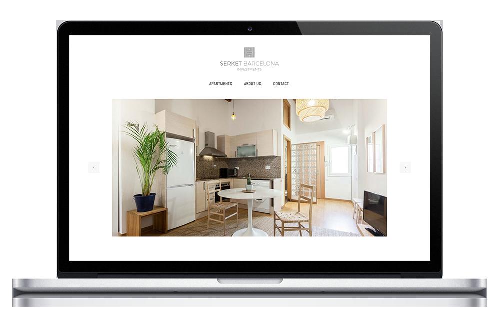 Serket Barcelona ★ Inversiones inmobiliarias ★ Website