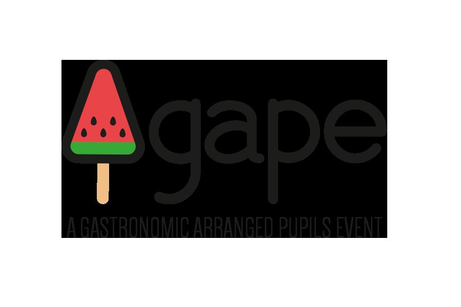 Agape · Eventos gastronómicos - Diseño de logo