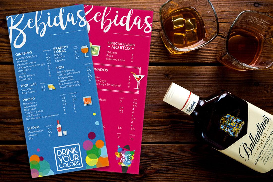 Plaza Goya ★ Restaurante ★ Carta de bebidas