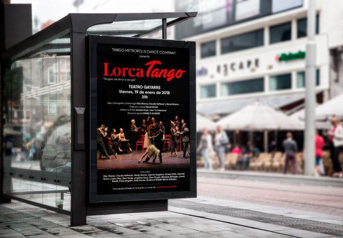 Lorca Tango - Diseño de Póster