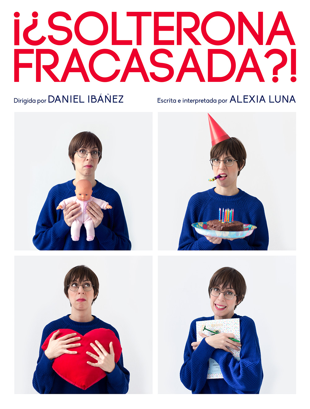 Solterona Fracasada -Diseño póster teatro