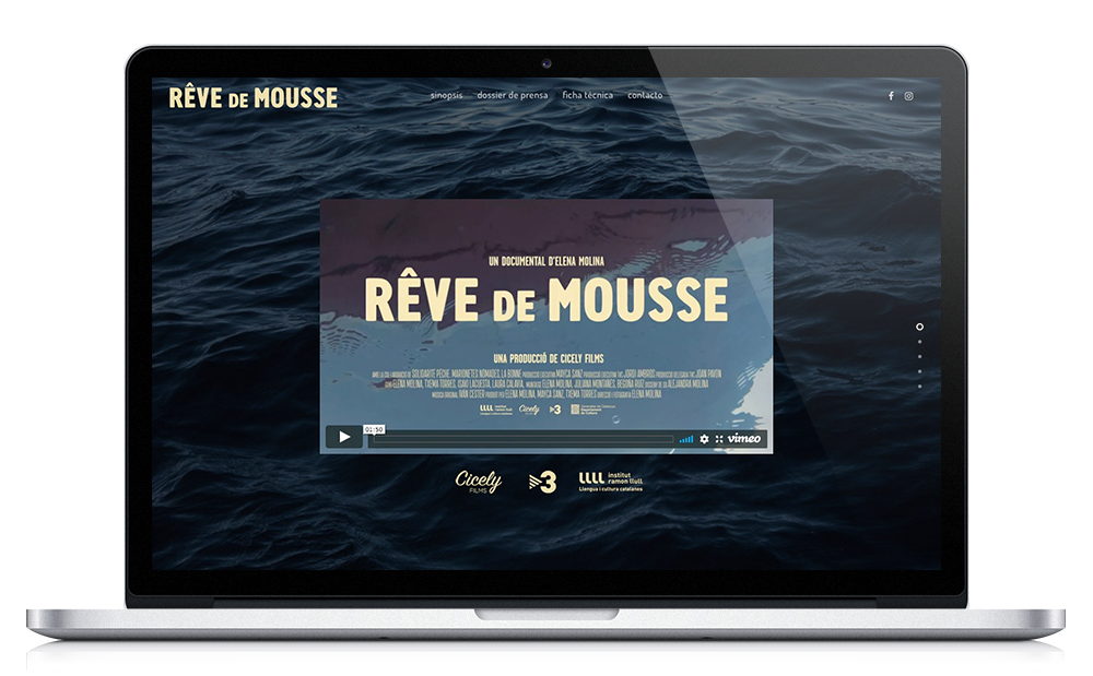 Rêve de Mousse ★ Documental ★ Website