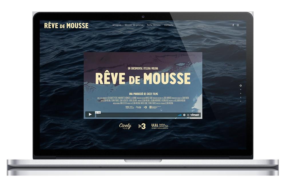 Rêve de Mousse ★ Documental ★ Website