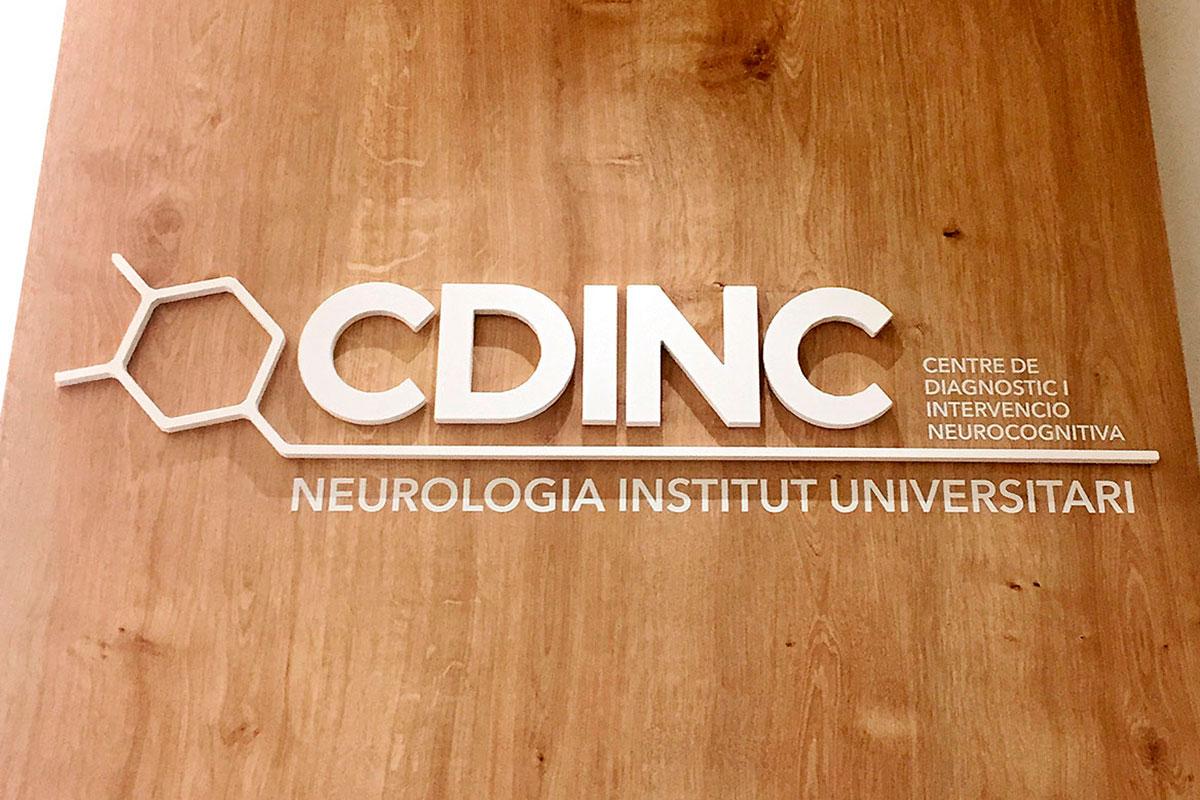 CDINC ★ Centro de Diagnóstico e Intervención Neurocognitiva ★ Logo