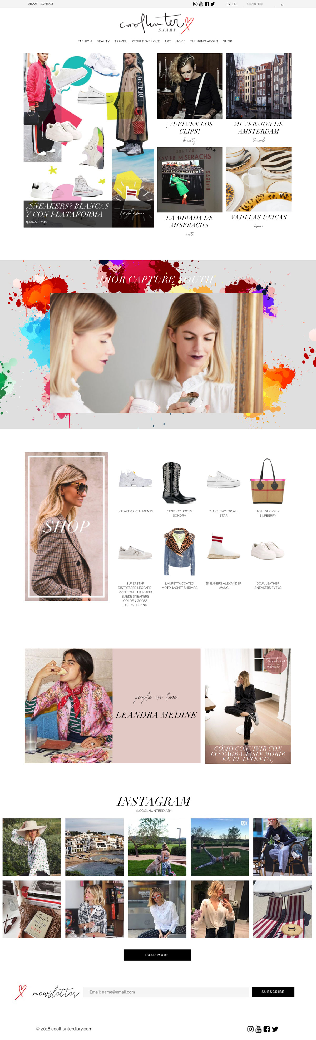 Coolhunter Diary ★ Web de moda y tendencias ★ Website