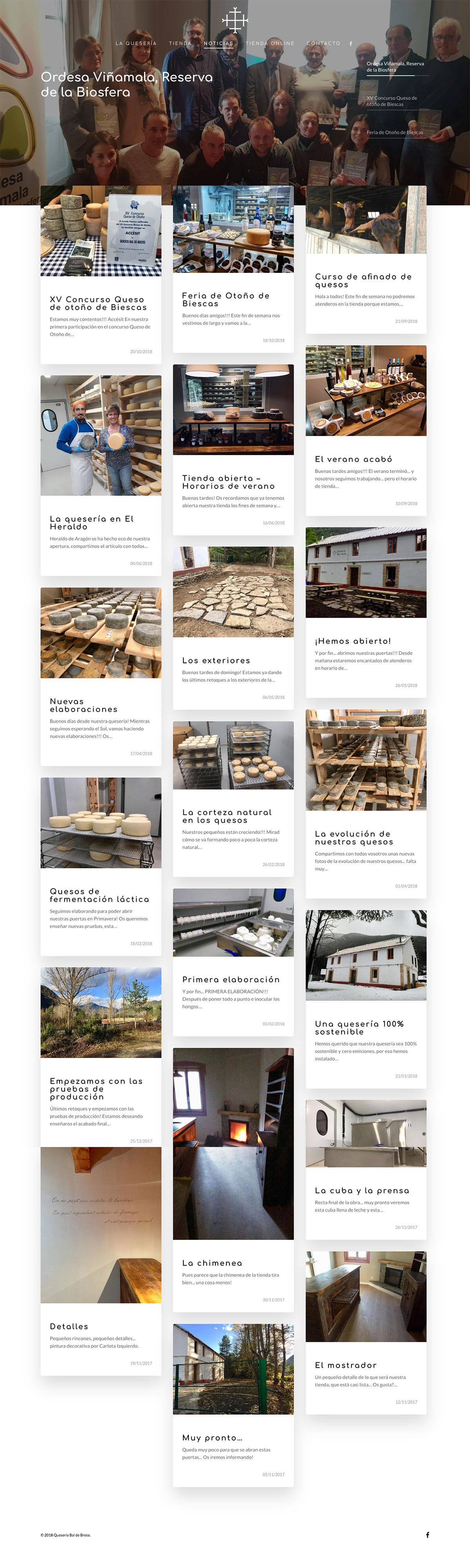 Quesos Bal de Broto ★ Quesería Artesana ★ Website