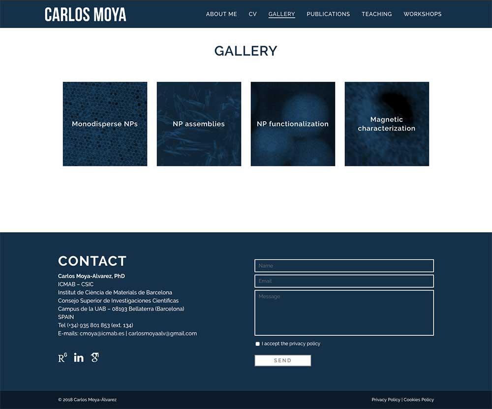 Carlos Moya Alvarez ★ Postdoctoral researcher at ICMAB ★ Website