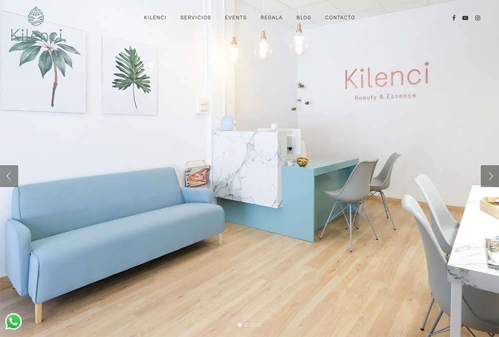 Kilenci ★ Salón de belleza ★ Website