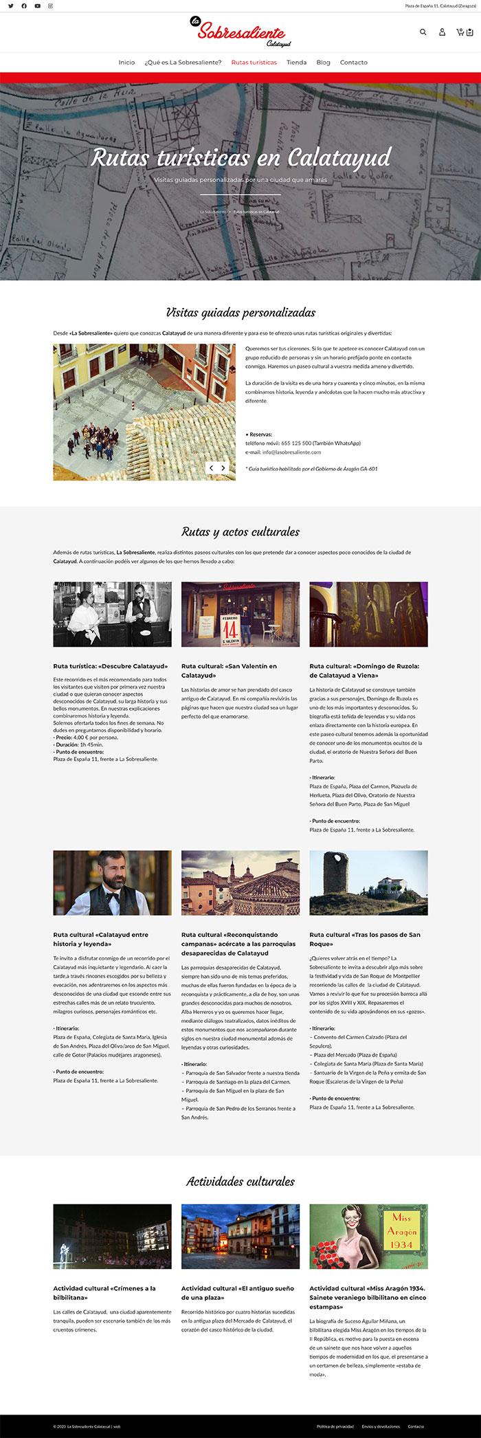 La Sobresaliente Calatayud ★ Tienda de recuerdos ★ Website