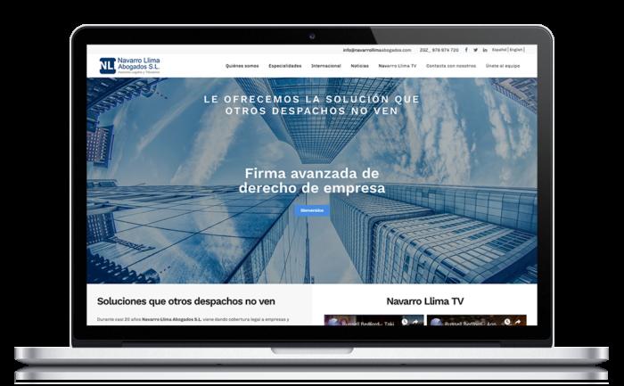 Navarro Llima Abogados ★ Asesores legales y tributarios ★ Website
