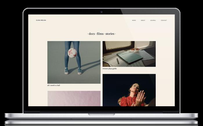 Elena Molina ★ Film director ★ Website