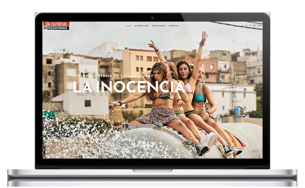 Un Capricho de Producciones ★ Productora audiovisual ★ Website