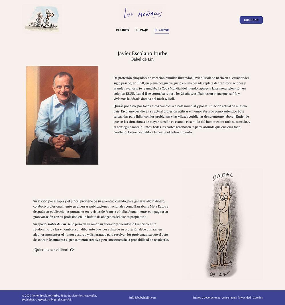 Los Moñacos ★ Libro ilustrado de Babel de Lin ★ Website