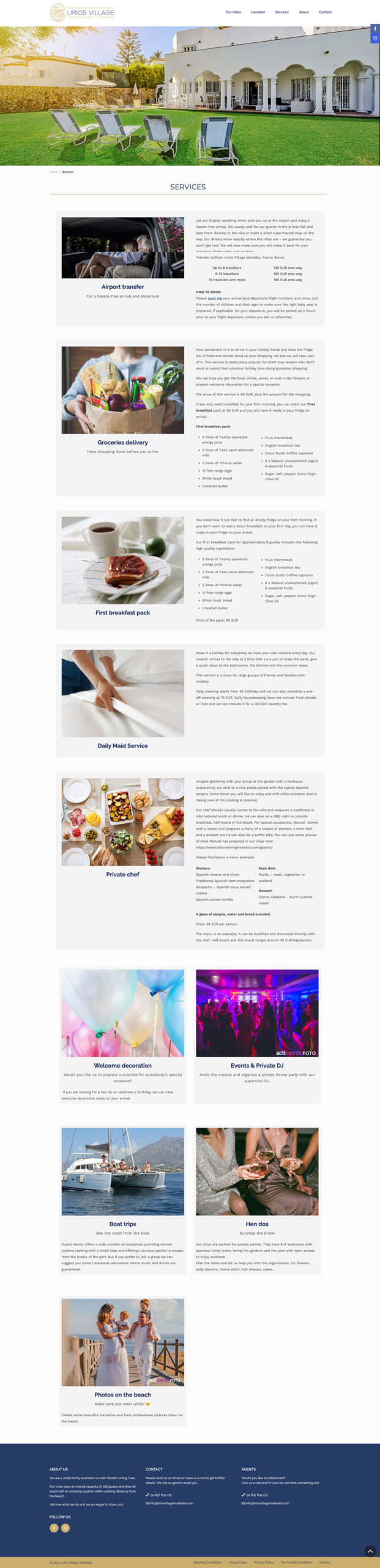 Lirios Village Marbella ★ Alquiler Vacacional ★ Website